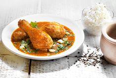Κοτόπουλο κάρυ με τέλεια σάλτσα και ρύζι μπασμάτι. Αν αγαπάτε τις ασιατικές γεύσεις μπείτε στην κουζίνα τώρα! Είναι απλά τέλεια αυτή η συνταγή! Dairy Free Keto Recipes, Gluten Free, Food Categories, Thai Red Curry, Recipies, Turkey, Cooking Recipes, Diet, Meals