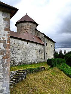 Château de Thorens-Glières - Haute Savoie. A visiter avec les Guides du Patrimoine des Pays de Savoie !  http://www.gpps.fr/Guides-du-Patrimoine-des-Pays-de-Savoie/Pages/Site/Visites-en-Savoie-Mont-Blanc/Genevois/Albanais-Massif-des-Bauges-Saleve-et-Pays-de-Filliere/Chateau-de-Thorens