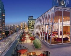 Rooftop Deck Of The Sheffield In Nyc Just One Your Homes As A Member