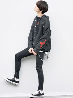 KEI ADRERのデニムジャケットを使ったコーディネート - WEAR Winter Jackets, Male Style, Mens Fashion, How To Wear, Winter Coats, Moda Masculina, Manish Style, Man Fashion, Winter Vest Outfits