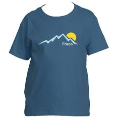 Frisco, Colorado Mountain Sunset - Youth/Kid's T-Shirt