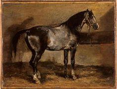Grayhorserack - Theodore Gericault