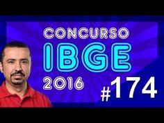 Concurso IBGE 2016 - Agente de Pesquisas e Mapeamento - Português aula 174