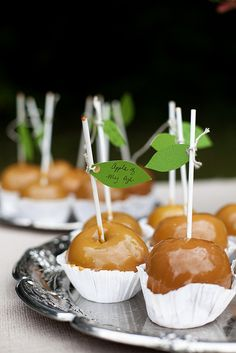"""apple of my eye"" favors"