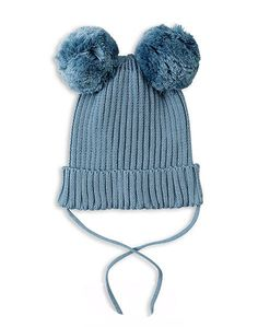 Mini Rodini Ear Hat In Blue