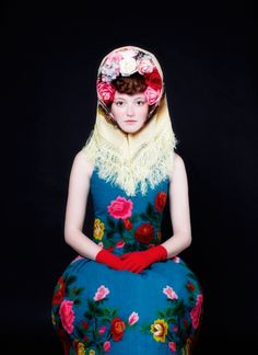 Russian doll / Matryoshka doll - fashion designer Susanne Bisovsky