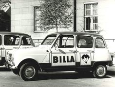 Renault 4L Billa company car