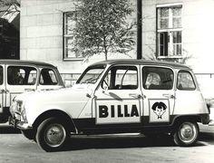 Renault 4L Billa company car
