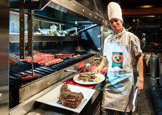 Eduardo - Steak house Cabaña Las Lilas, Buenos Aires, Argentina