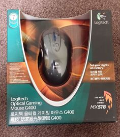 New Logitech G400 Optical Gaming Mouse USB Wired NIB FS #Logitech