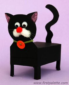 Black box cat craft