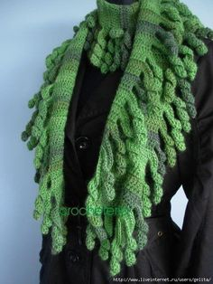 ****Inspiration****  Adorable #Crocheted Curlicues!
