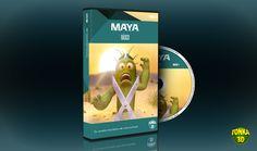 Novo curso MAYA Básico em DVDs. Confira: http://tonka3d.com.br/curso-maya-3d-basico.html