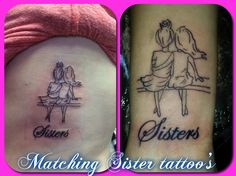 sister tattoo, meaningful, personal, cute, girly, sisters, rib tattoo, wrist tattoo