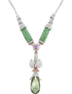 Van Cleef & Arpels Vesna necklace, The Rite of Spring ballet, Ballet Précieux collection