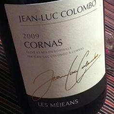 Jean-Luc Colombo, 2009 Cornas 'Les Mejeans'