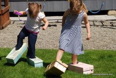Cardboard box races