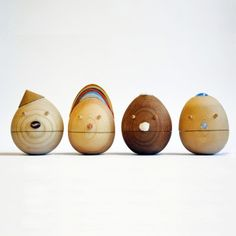 "Roly Poly"" Contentment "" Roly Poly, movable wooden toys,"