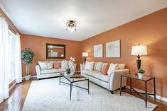 This gorgeous living room is in the perfect home for a young family in Chesterfield, Missouri. Home Staging Companies, Young Family, Living Room, Home Decor, Decoration Home, Room Decor, Home Living Room, Drawing Room