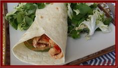 Wraps de dinde au Garam Masala - Oh, la gourmande. Garam Masala, Wraps, Fresh Rolls, Turkey, Ethnic Recipes, Food, Turkey Cutlets, Cooking Food, Flour Tortillas