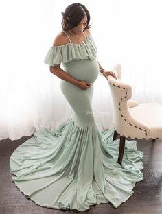 Whitematernity dressMaternity gownMermaid Maternity DressMaternity Dress for photo shootmaternity dress for baby showergoddess dress