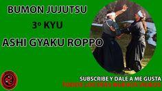 3º kyu jujutsu : ashi gyaku roppo | ninpo | taijutsu | jiu-jitsu | bumon