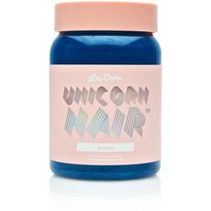 Lime Crime Anime Unicorn Hair Dye ($18) ❤ liked on Polyvore featuring beauty products, haircare and hair color