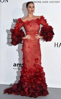 Regal in Rose Petals: katy-perrys-best-looks