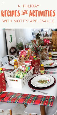 There are simply so many ways to celebrate the festive season—especially when you check out this collection of 4 Holiday Recipes and Activities with Mott's® Applesauce! From delicious baked goods to kid-friendly DIYs, you'll love trying your hand at easy baking substitutions and creative decorations with your family and friends. Pick up everything you'll need to prepare for the Christmas celebration at Dollar General!