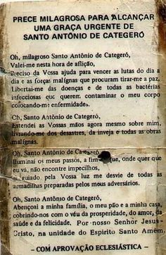 santo-antonio-oracao Jesus Prayer, Quotes About God, Positive Affirmations, Reiki, Positive Vibes, Motivational Quotes, Prayers, Namaste, Healing