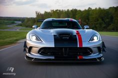 Dodge Is Building Hot Rods in Snake Skin. We Drive the Fully Adjustable, Customizable 2016 Dodge Viper ACR New Dodge Viper, Dodge Challenger, Detroit, Viper Acr, Car For Teens, Teen Driver, Super Images, 2018 Dodge, Dodge Charger