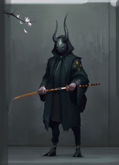 Horn masked samurai - CGHub (artist unknown)                                                                                                                                                                                 もっと見る