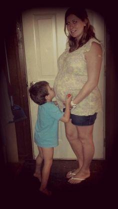 #Maternity #SiblingLove #Sweet #29Weeks
