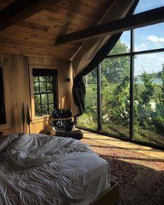 50 Best Bedroom Design Ideas for 2019 - The Trending House Dream Rooms, Dream Bedroom, Home Bedroom, Bedrooms, Master Bedroom, Home Interior Design, Interior Architecture, Aesthetic Rooms, House Goals