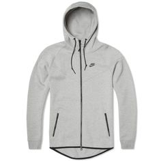 NIKE MENS Tech Fleece Windrunner Hooded Top 100% GENUINE SIZE XXL GREY RRP £110