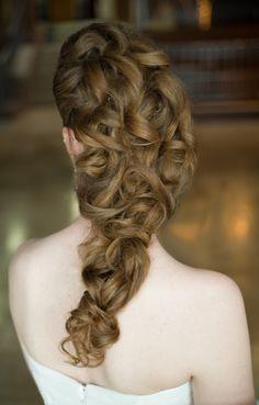 Fall Bridal Hair Ideas by G Michael Salon | http://ModernSalon.com