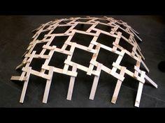 Leonardo Da Vinci - Wood Dome - Real Life Construction - Cantilever Construction - YouTube