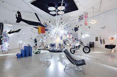 Last month, the  at the La Triennale di Milano showcased the   of series 8080 from Kusch+Co, a  by  Design Studio. Porsche Design, Creative Design, Track Lighting, Photo Wall, Lounge, Ceiling Lights, Interior Design, Architecture, Austria