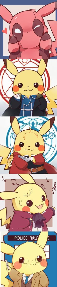 Pokemon-Pikachu- Metal Roy Mustang- Elric Who. Mega Pokemon, Pokemon Fan Art, Cool Pokemon, Pokemon Fusion, Roy Mustang, Pokemon Mignon, Chibi, Manga Anime, Anime Art