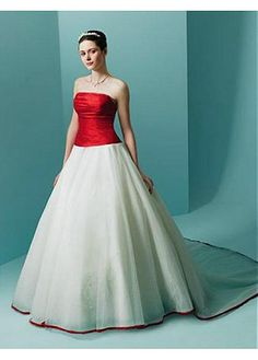 ELEGANT ORGANZA BALL GOWN STRAPLESS NECKLINE WEDDING DRESS LACE BRIDESMAID PARTY COCKTAIL GOWN FORMAL BRIDAL PROM CUSTOM