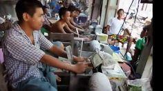 Myanmar ( Burma ) 2013, Mandalay, Jade - Market & Jade - Process, Shan S...