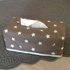 sewing idea for kleenex box cover ♥