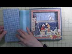 By The Sea Tunnel Book - Construction Part 2 - YouTube video by Craft Knife Chronicles