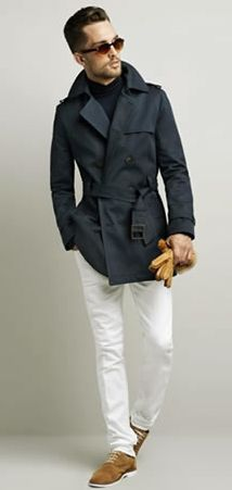 Great coat with great pants