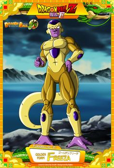 Dragon Ball Z - Golden Freeza by DBCProject on DeviantArt