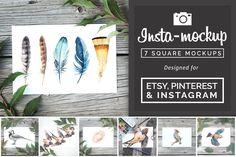 Handpicked Fonts, Patterns, and Textures on Creative Market Sites Like Etsy, Stickers Design, Design Typography, Branding Design, Instagram Prints, Site Website, Table Design, Art Anime, Photoshop Cs5