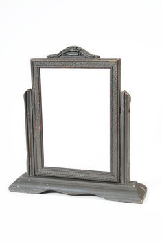 Vintage Tiltable Wooden Picture Frame by FineSelects on Etsy, $24.00