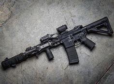 Gun control means being able to hit your target. Paintball Guns, Airsoft Guns, Weapons Guns, Guns And Ammo, Tactical Rifles, Firearms, Shotguns, Battle Rifle, Custom Guns