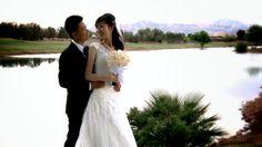Brian & Na at Wedgewood, Las Vegas.