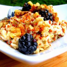 Quinoa & Blackberry Vanilla Oatmeal